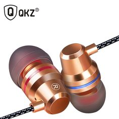 Kopfhörer qkz dm1 in-ohr kopfhörer-kopfhörer mit mikrofon 3 farben fone de ouvido gaming headset audifonos dj mp3-player