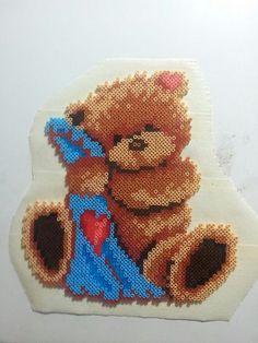 Teddy hama perler beads by pernille120582