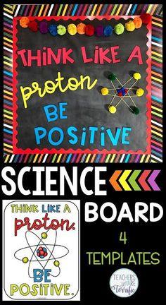 Science room decorations bulletin boards 15 Ideas for 2019 Science Bulletin Boards, Science Boards, Classroom Bulletin Boards, Art Classroom, Elementary Science Classroom, Chemistry Classroom, Elementary Art, Classroom Organization, Classroom Ideas
