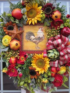 Fantastic french country decor are offered on our internet site. Country Wreaths, Country Crafts, Fall Wreaths, French Country Cottage, French Country Style, Country Décor, Country Cottages, French Decor, French Country Decorating