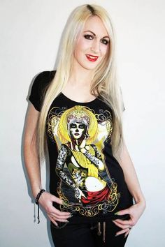 Camiseta Chica MC Cleopatra  Scoop
