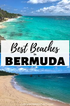 The best beaches in Bermuda are Warwick Long Bay, Horseshoe Bay, Jobson's Cove and Astwood Cove. All of them have the famous pink sand and amazing turquoise blue water. Tonga, Destin Beach, Beach Trip, Beach Travel, Lanai Island, South America Travel, North America, Latin America, Islands