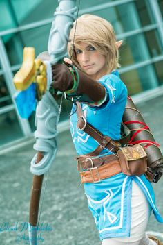 #Tatasenko Mana new Link crossplay in Paris Japan Expo 2014 | #Zelda #WiiU