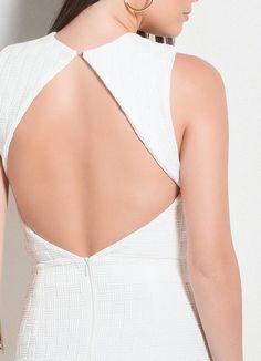 Vestido Colcci (Off White) com Recortes