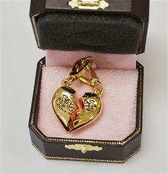 Juicy Couture  Broken Heart Charm Duo