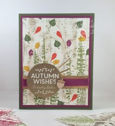 Among the Branches Meets Woodland Embossing Folder