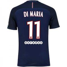 Paris Saint Germain PSG 16-17 Angel #di Maria 11 Hemmatröja Kortärmad,259,28KR,shirtshopservice@gmail.com