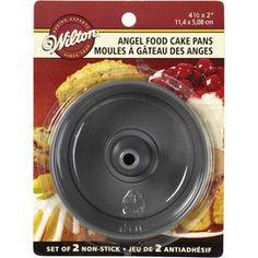 Mini Angel Food Cake Pan Set