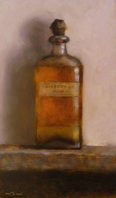 Pintura a óleo sobre tela de Neil Nelson