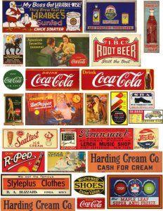 Vintage Labels, Vintage Ads, Vintage Signs, Vintage Posters, Advertising Signs, Vintage Advertisements, Hobby Trains, Making A Model, Diy Store