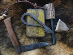 Fire Kit  from HowlingDingo Esty, Gear made from natural things to take to wild places