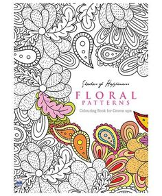 Colouring Book Flower Pictures New Coloring Books for Grown Ups Floral Patterns Doodle Coloring, Adult Coloring, Colouring, Coloring Books, Pattern Coloring Pages, Flower Coloring Pages, Printable Coloring Pages, Bullet Journal Work, Doodle Books