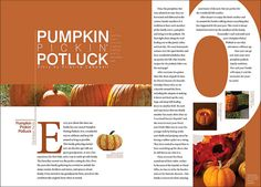 Magazine Spread: Feature Story by Kristine Campbell, via Flickr