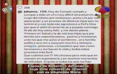 Esposa De Robertico Defiende Lo Suyo Ante Rumores De Relación Con Ex Empleada #Video