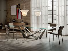Cattelan Italia Skorpio Table by Andrea Lucatello - Chaplins