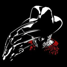 Scary Movies, Horror Movies, Movie Crafts, Horror Artwork, Horror Posters, Arte Horror, Silhouette Art, Cute Cartoon Wallpapers, Nightmare On Elm Street