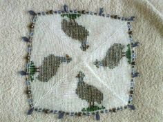 Crochet Doilies, Projects To Try, Milk, Jar, Beads, Cover, O Beads, Doilies Crochet, Beading