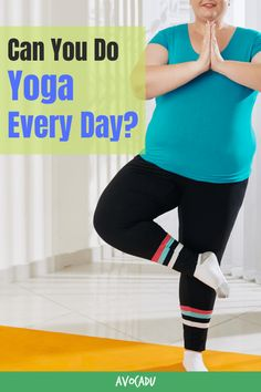 There are many reasons people consider practicing yoga. Weight loss, improved breathing, flexibility, and stress relief to name a few. Yoga has many more amazing benefits, which we'll discuss below, but first we need to answer the question: Can you do yoga every day? Find out here! #avocadu #yoga #yogaeveryday #dailyyoga #yogaweightloss Yoga Fitness, Fitness Tips, Fitness Motivation, Get Abs Fast, Local Gym, Fitness Photos, Daily Yoga, Yoga For Weight Loss, Yoga Routine