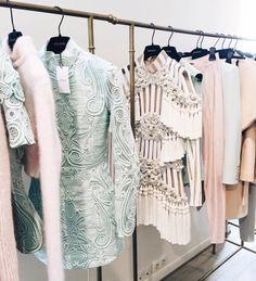 FOR STYLE INSPIRATION || Fashion week rack envy || NOVELA BRIDE...where the modern romantics play & plan the most stylish weddings... www.novelabride.com (Instagram: @novelabride)