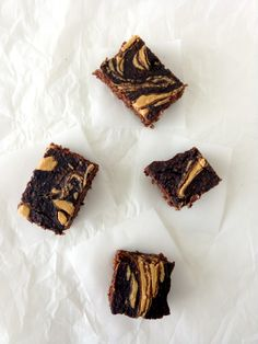 Peanut Butter Swirl Chocolate Protein Brownies - The Wheatless Kitchen  Uses Arbonne Protein Shake Mix!!!!! YUMMO!