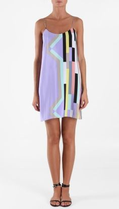 Tibi Arizona Slip Dress - OBSESSED! can't wait till it comes in