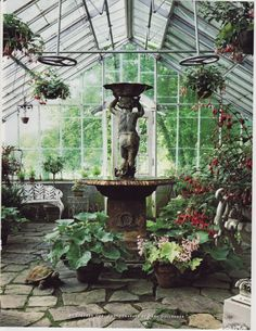 Every luxury house should have one, just my opinion!  Give me the conservatory, you can have the rest!   Leo Dowell Interiors.com