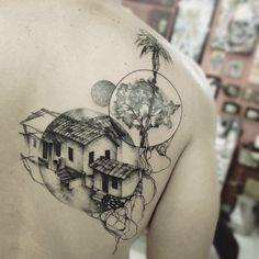 Conheça a tatuagem inspiradora deste talentoso artista mineiro