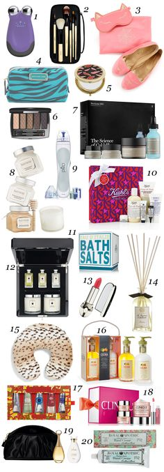 20 gorgeous gift ideas for spoiling your beautiful mom: http://beautyeditor.ca/2013/12/06/mom-gift-ideas-2013/