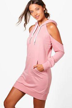 4b5e6b3f2c5 Tall Amy Cold Shoulder Sweat Dress Sweat Dress