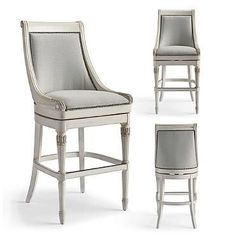 "Kent Swivel Bar Height Bar Stool (30""H seat) @ Frontgate in MINT Fabric"