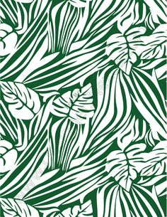 V70 Safari Leaf Jungle Print Seamless Pattern - download free at www.designersnexus.com! #print #fabric #pattern #seamlesspattern #textiledesign