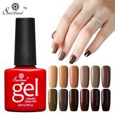1.39$ (Buy here: http://alipromo.com/redirect/product/olggsvsyvirrjo72hvdqvl2ak2td7iz7/32754104101/en ) Saviland 1pcs Brown Series Long Lasting Esmaltes Uv Led Gel Nail Polish Color Gel Lacquer Soak Off Primer Top Base Coat for just 1.39$