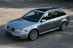 What sits 5 with luggage and a dog, has 4 rings, and will blow by pretty much anything?: An Audi RS4 avant  LOVE EM'