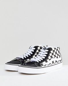super popular d6e80 bc2ad Discover Fashion Online High Top Vans, High Tops, High Top Sneakers, Sk8 Hi