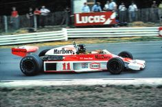 James Hunt in the Mclaren M23 (1976)