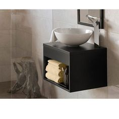 "Local LA company- $407 WANT THIS FOR LITTLE BATHROOM BY PATIO           RONBOW Catalina 22"" Vanity Vessel - Black RP by http://john-delgado-dch-paramus-honda.socdlr.us"