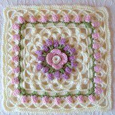 Eve's Coverlet Wonderful Crochet model easy Download free