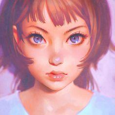 Reconnaîtrez-vous tous les personnages de fan art d'Ilya Kuvshinov ? Photo Portrait, Portrait Art, Portraits, Art Manga, Anime Art, Digital Portrait, Digital Art, Anime Body, Anime Pokemon