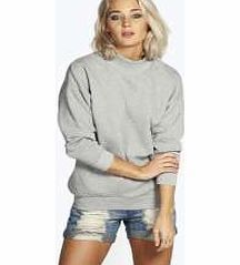 boohoo Deep Rib 3/4 Sleeve Cocoon Sweat - grey marl Make your top pop this season with sporty, baseball-style basic tees in quilted finishes with ribbed, stripe trims. Crew necks come in block colours, crop tops with mesh inserts and long sleeve jersey http://www.comparestoreprices.co.uk/womens-clothes/boohoo-deep-rib-3-4-sleeve-cocoon-sweat--grey-marl.asp
