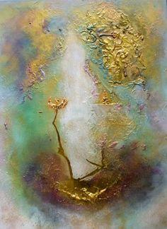 """Silke Brandenstein, """"Hoffnung lebt"""" Mit einem Klick auf """"Als Kunstkarte versenden"""" versenden Sie kostenlos dieses Werk Ihren Freunden und Bekannten."""