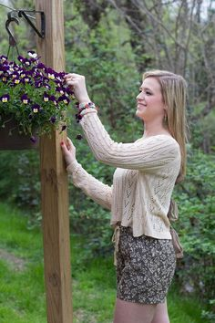 Fresh take on fun #floral shorts for this #Spring and #Summer at #JFY! #sweaters #flowers #beautiful #outdoors