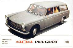 1969 Peugeot 404 De Luxe Station Wagon