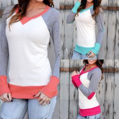 This winter varsity sweater is a favorite!! The color contrast and fit are darling!! Easy to layer or wear alone!! Only $19.99