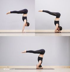 The core can be hard to grasp or tangibly activate but it's essential for inversions. Practice these 12 core exercises to transform your inversion practice. Yoga Handstand Poses, Handstand Training, Yoga Inversions, Yoga Moves, Handstands, Yoga Sequences, Acro, Resistance Band Exercises, Core Exercises