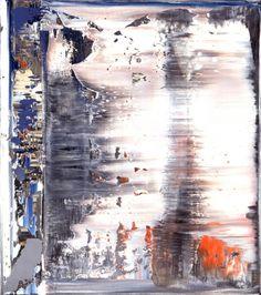 Abstract Painting 1995 41 cm x 36 cm Oil on canvas Catalogue Raisonné: 834-7