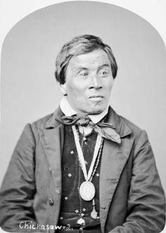 Chickasaw (chief?), no details.