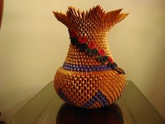Origami Art, Paper Quilling, Hobbies And Crafts, Vases, Bowls, Album, Pictures, Modular Origami, Paper