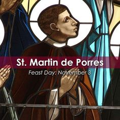 """Join the Catholic Apostolate Center in commemorating the #FeastDay of St. Martin de Porres! """"After a few years in the medical apostolate, Martin applied to the #Dominicans to be a """"lay helper,"""" not feeling himself worthy to be a religious brother. After nine years, the example of his prayer and penance, charity and humility led the community to request him to make full religious profession. Many of his nights were spent in prayer and penitential practices; his days were filled with nursing…"""