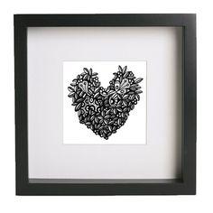 Ink Art Print - inktober #makeartthatsells https://www.etsy.com/uk/listing/220919229/illustration-art-print-ink-drawing-wall?ref=listing-shop-header-1