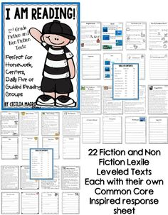 22 original second grade leveled reading passages and close reading activities aligned to Common Core Literature AND Informational reading standards! Leveled Reading Passages, Reading Fluency, Reading Intervention, Reading Strategies, Fluency Games, Close Reading Activities, Reading Help, Reading Groups, Teaching Reading